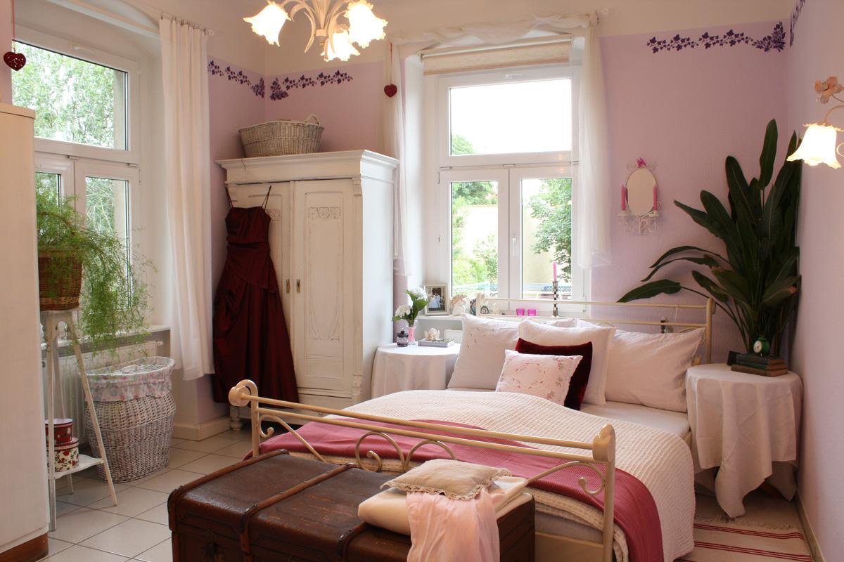Schlafzimmer Im Shabby Chic Wohnstil: Einrichten